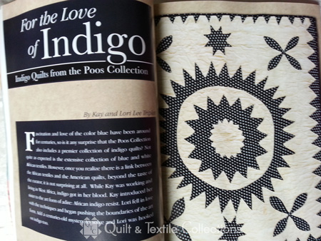 For the Love of Indigo: Indigo Quilts from the Poos Collection