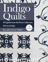 Companion Product: Indigo Quilts Book