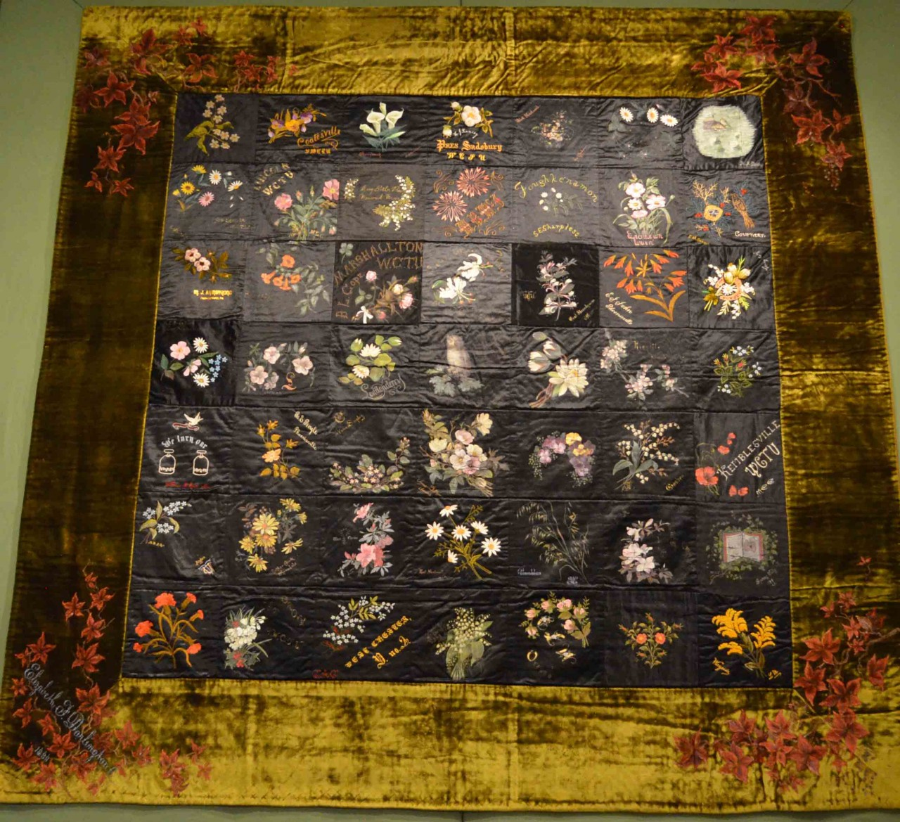 Quilts: the Next Layer - Textiles and the Triplett Sisters : chester county quilting - Adamdwight.com