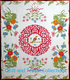 "Bird in a Lace Cage Quilt, 88"" x 88"" – Complete Pattern"