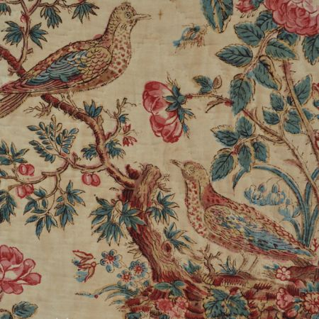 Fabric Detective: The Case of the 200 Year Old Chintz Birds