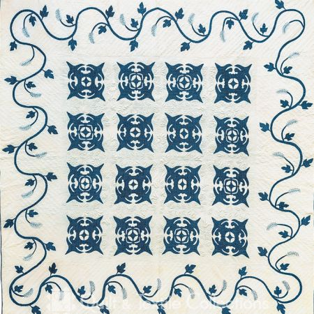 Antique Indigo Quilt